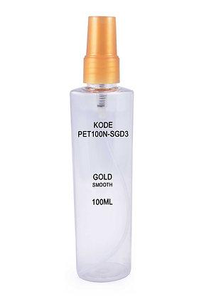 PET 100ml Mist Sprayer-Gold Smooth