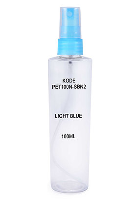 PET 100ml Mist Sprayer-Light Blue