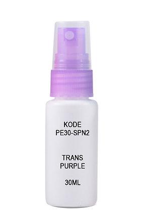 HDPE 30ml Mist Sprayer-Trans Purple