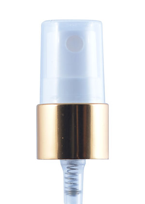 Sample Mist Sprayer 18-410 Metal Cover-Gold