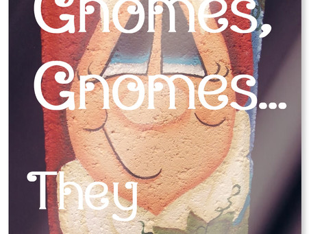Gnomes, gnomes, gnomes...they are everywhere!