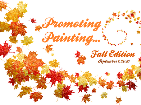 Promoting Painting Sept. 1, 2020