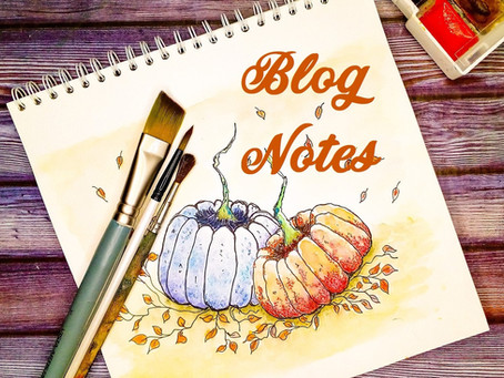 Blog Notes - October 1, 2021