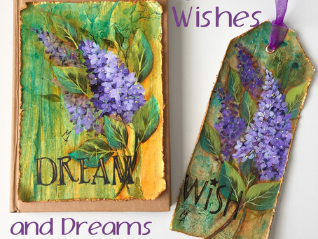Lilac Wishes and Dreams  By Marianne Andreazza