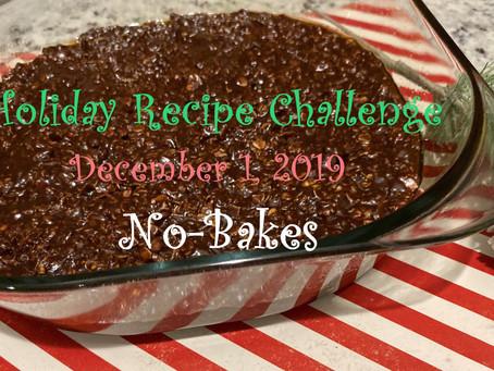 Holiday Recipes - Chocolate No Bake Cookies