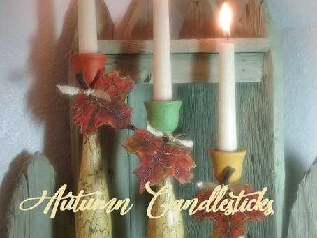Autumn Candlesticks