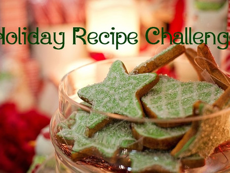 Holiday Recipes Challenge
