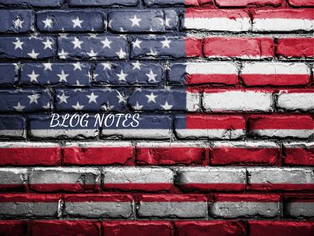 Blog Notes July 1, 2021