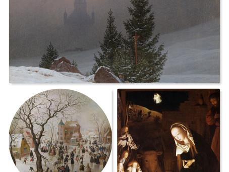 Christmas Paintings through History.
