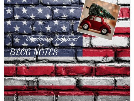 Blog Notes- July 15, 2021
