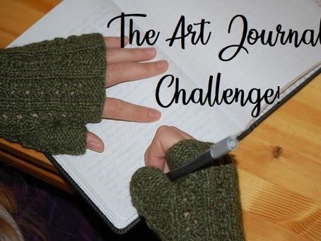 Art Journal Challenge - September 1, 2020