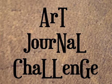 Art Journal Challenge February 10, 2020