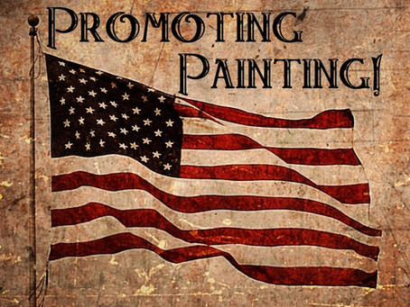 Promoting Painting - July 15, 2021