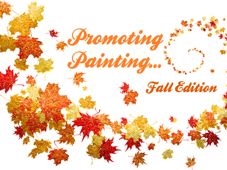 Promoting Painting October 1, 2020