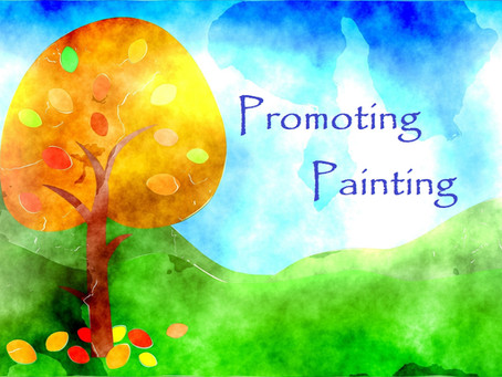 Promoting Painting - October 1, 2021