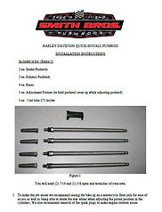 Mopar Pushrod Instructions