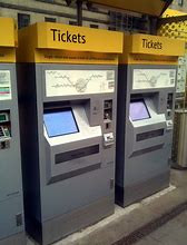 This is the type of ticket machine to look for when buying a Manchester metro ticket