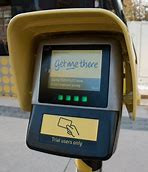 Manchester Metro touch in unit for card payments
