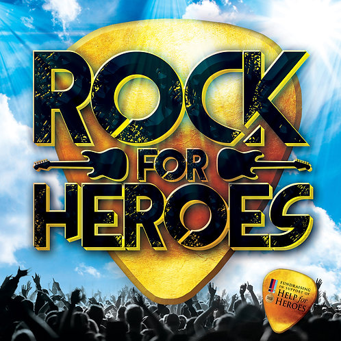 Rock for Heroes CD