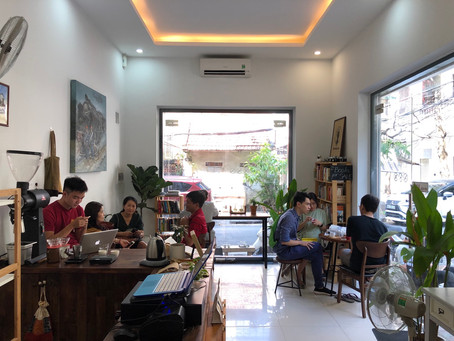We are no longer in Ngoc Ha. An announcement about our new address
