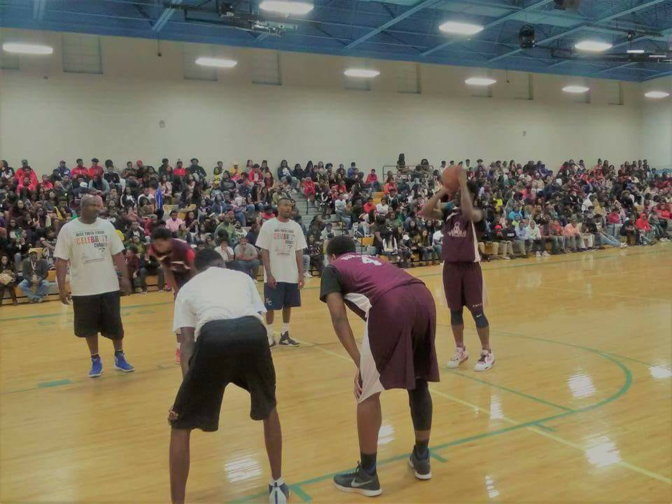 BOSS 3rd Annual Celebrity Charity Basketball Game at Selma High School 3