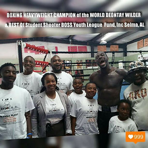 Deontay Wilder & BOSS Youth League