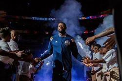 NBA Pelicans Tyreke Evans and BOSS