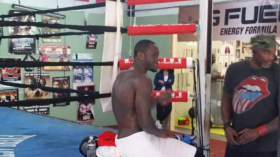 Deontay Wilder Heavyweight Boxing Champion of the World and BOSS 2