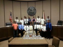 BOSS at Selma City Council Meeting