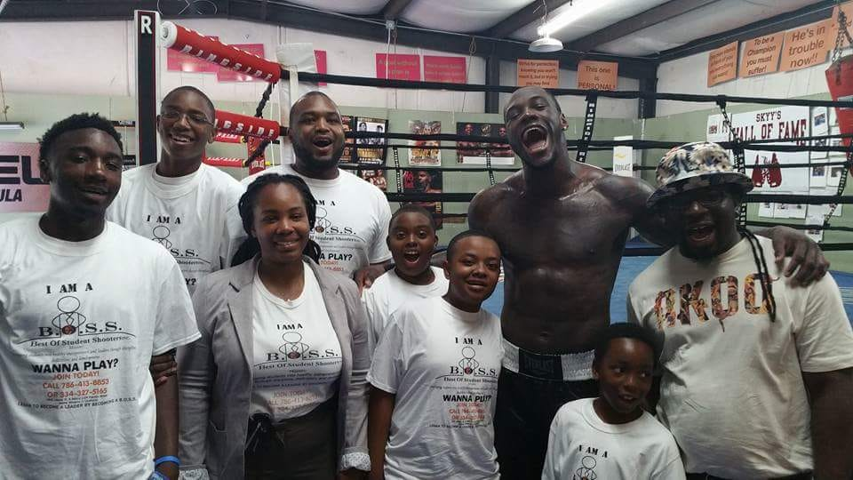 Deontay Wilder Heavyweight Boxing Champion of the World and BOSS