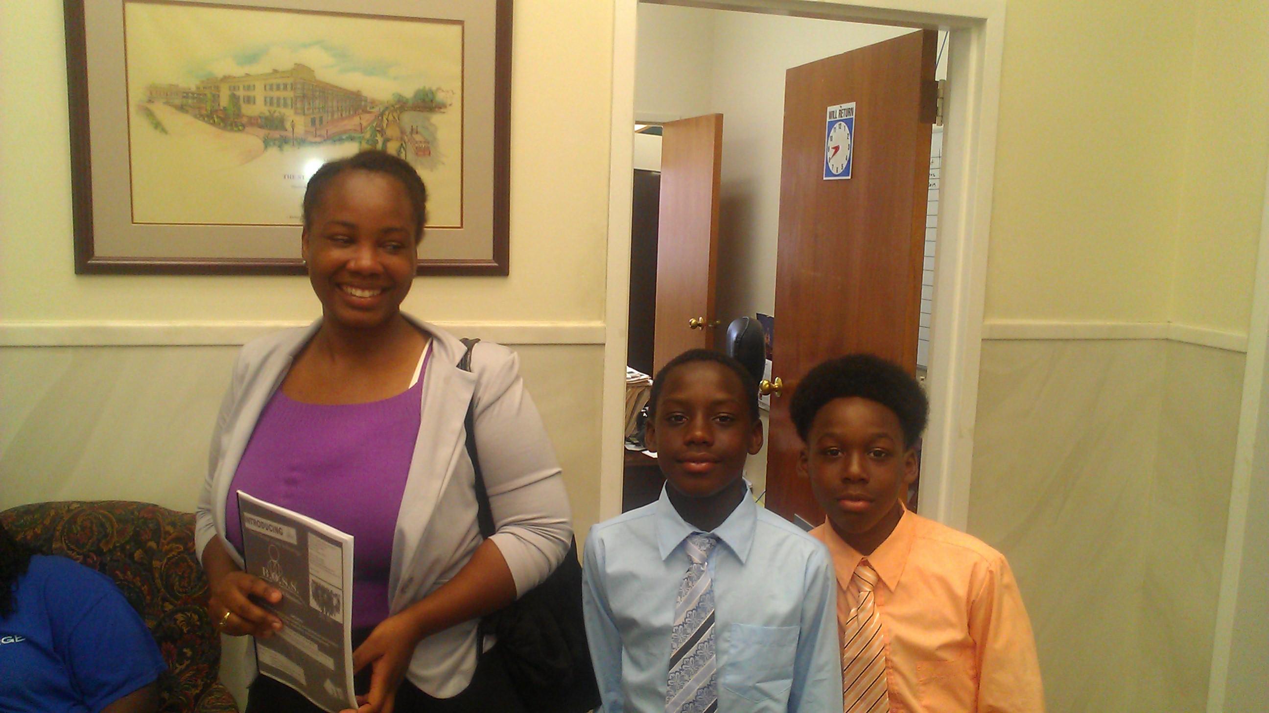BOSS meeting the Mayor of Selma