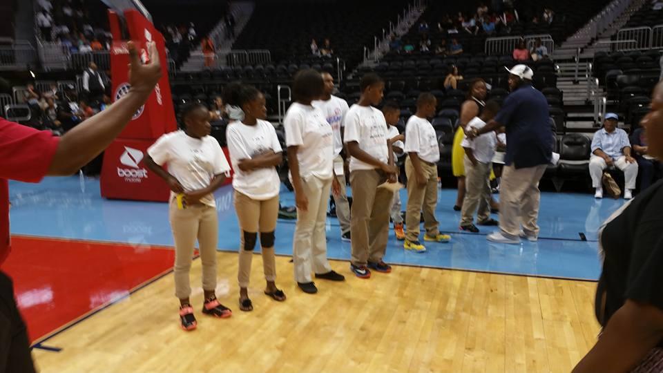 BOSS brings out WNBA Atl Dream