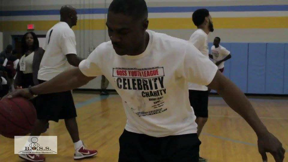 2n Annual Celebrity Charity Basketball Game Trainer for the stars Donnie Young
