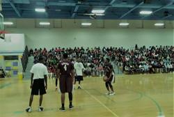 BOSS Celebrity Charity Basketball Game Lee Underwood