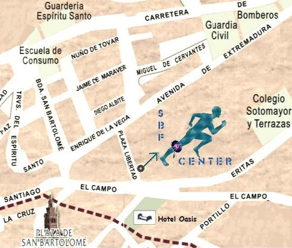 Cómo llegar a centro de entrenamiento personal en Jerez de los Caballeros