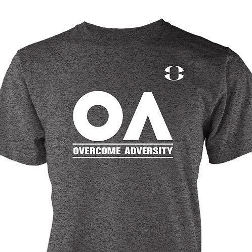 Men Overcome Adversity Tee