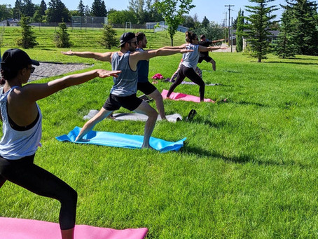 Summer Yoga is ON (and for a good cause too)!