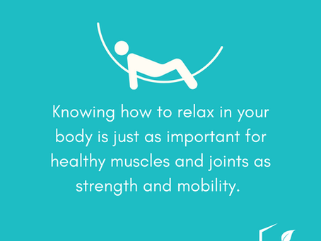 Healthy Muscles Know How to Relax