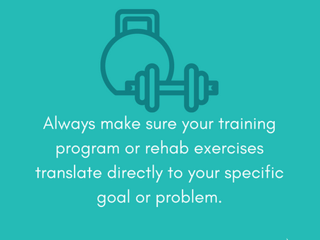 Why Individualized Rehab and Training Is So Important