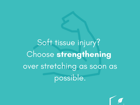 Injured? Focus on Getting Stronger.