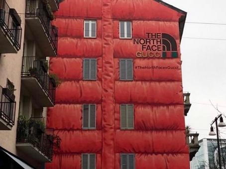 The North Face X Gucci Billboard in Milan