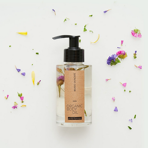Organic Bodyoil - Wildflowers