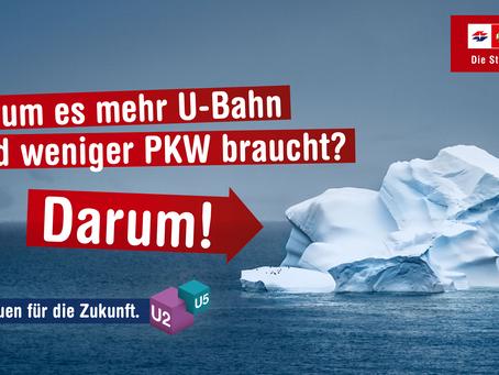 OOH Klimakampagne der Wiener Linien