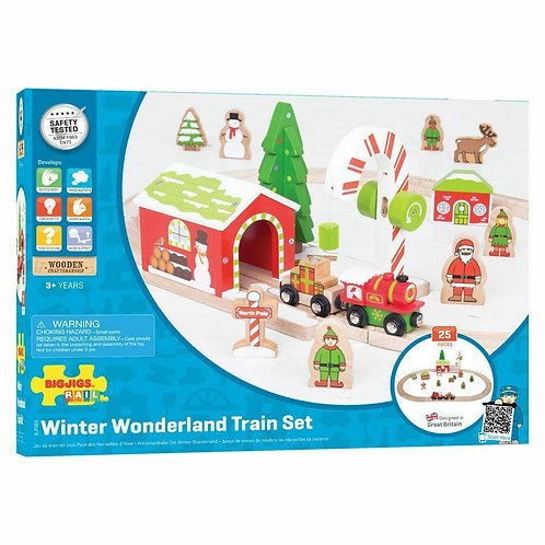 SALE Winter Wonderland Train Set Start Railway Play Track