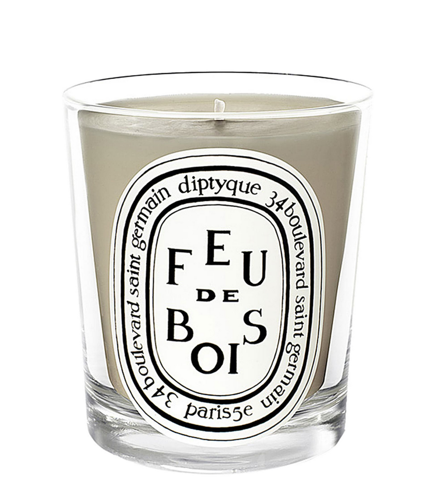 Diptyque wood fire candle