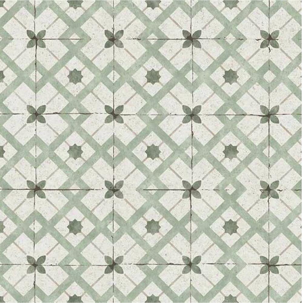 Erissman wallpaper vintage tile style