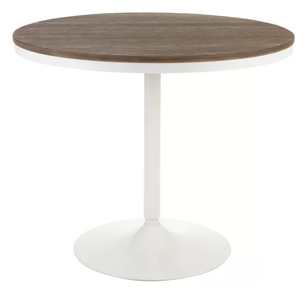 round base pedestal table wayfair