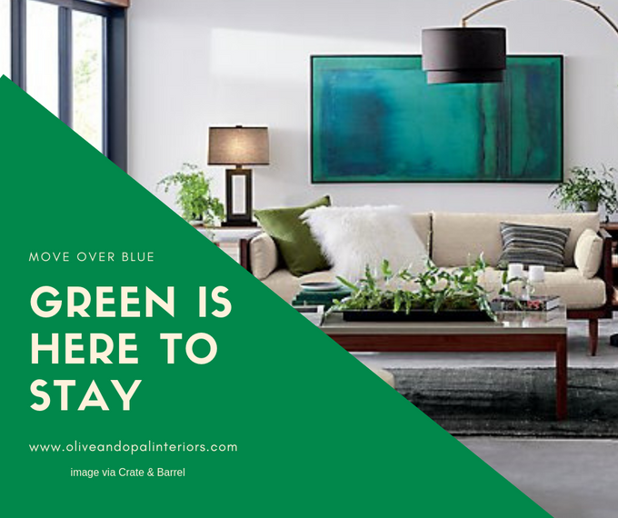 Is green the new blue?