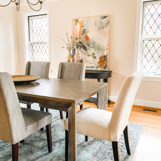 Clayton property, Home Staging by Olive & Opal Interiors