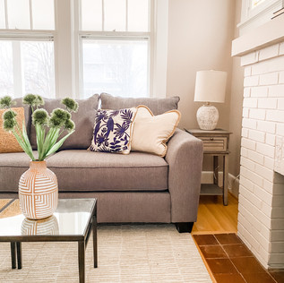 Glendale, MO Home Staging by Olive & Opal Interiors